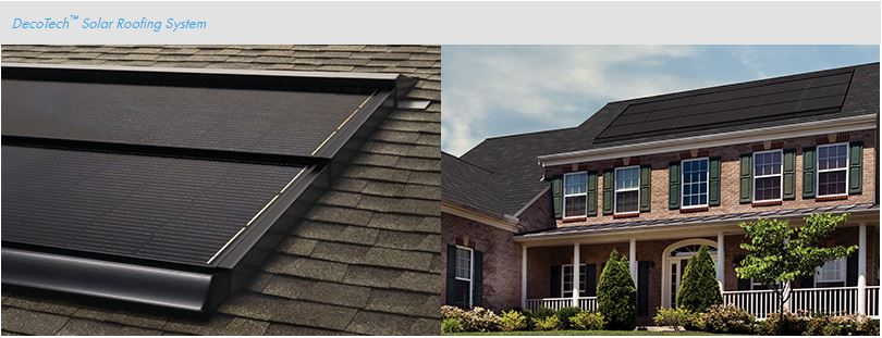Affordable Roofing & SolarDecoTech Solar Roofing System
